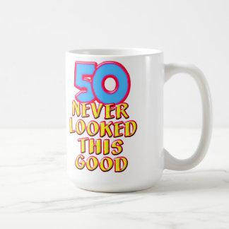 50 Never Looked this Good Mug
