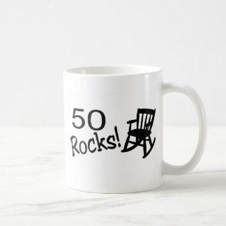 50 Rocks (Rocker) Basic White Mug