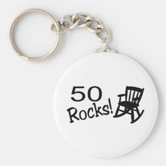 50 Rocks (Rocker) Key Chain