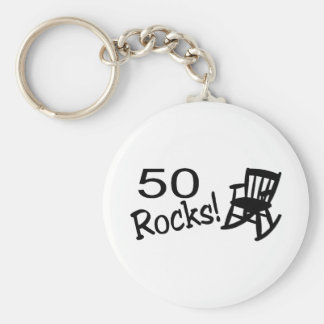 50 Rocks (Rocker) Key Ring
