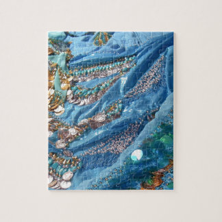 50 Shades of Turquoise Jigsaw Puzzle