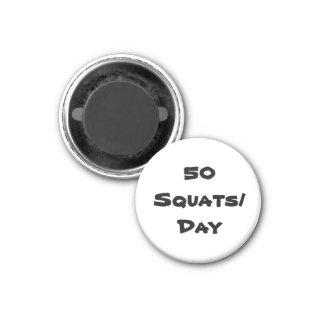 50 squats magnet