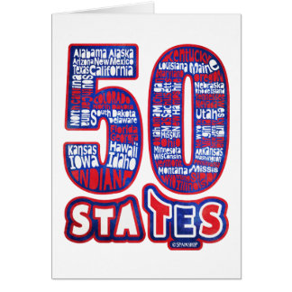 50 STATES THE USA CARD
