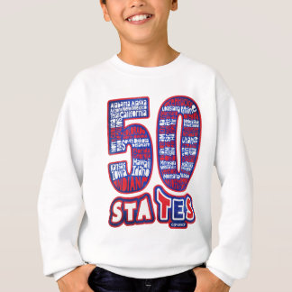50 STATES THE USA SWEATSHIRT