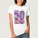 50 STATES USA T-SHIRTS