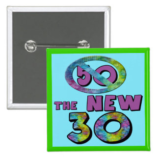 50 The New 30 Birthday Favor Button