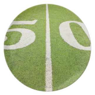 50 Yard Line Plate