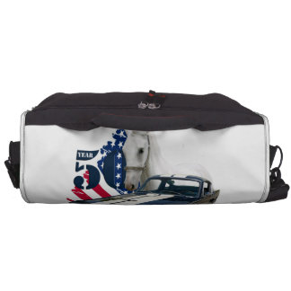 50 Year Mustang styles Laptop Commuter Bag