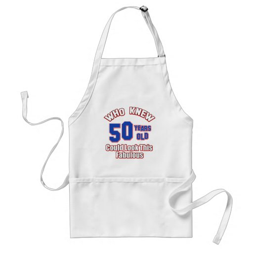 50 year old could look this fabulous aprons