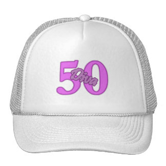 50 year old Diva Trucker Hats