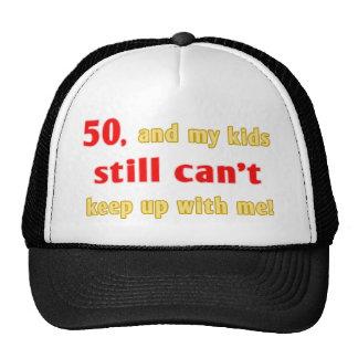 50 Year Old Gag Gift Cap