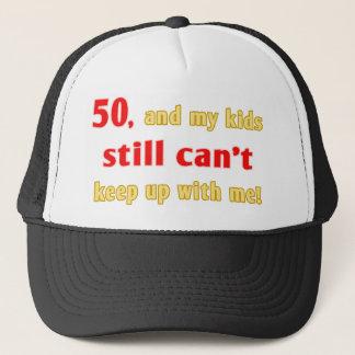 50 Year Old Gag Gift Trucker Hat