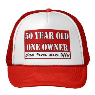 50 Year Old, One Owner - Needs Parts, Make Offer Hats