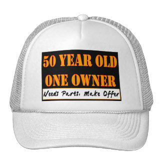 50 Year Old, One Owner - Needs Parts, Make Offer Trucker Hats