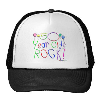 50 Year Olds Rock! Hat