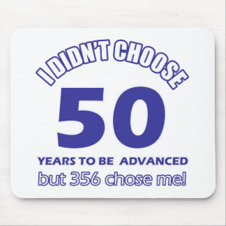 50 years advancement mouse pad
