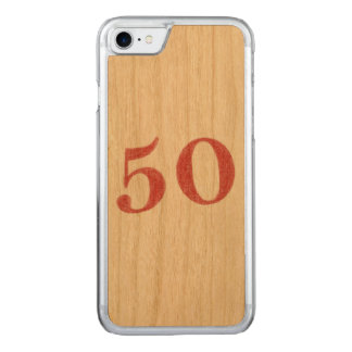 50 years anniversary carved iPhone 8/7 case