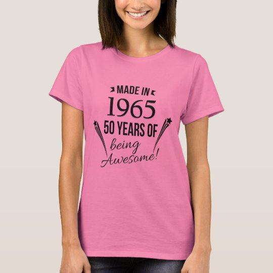 50 Years of Being Awesome T-Shirt