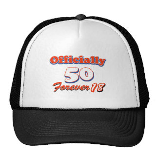 50 years old and still Agile Hats