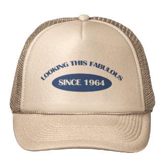 50 years old birthday design hats
