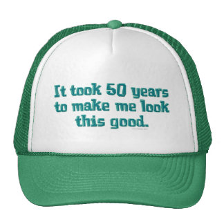 50 Years Old Mesh Hat
