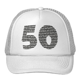 50 years old hat