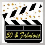 50 YR OLD MOVIE STAR POSTER