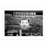 '50c Skeeball' (Coney Island, NY) postcard
