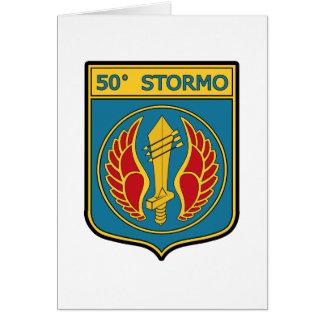 50o Stormo Greeting Card