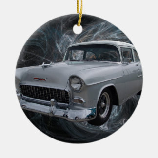 50s chevy1 .jpg christmas ornament