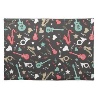 50's Instruments Placemats