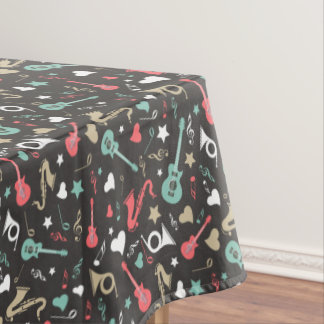 50's Instruments Tablecloth