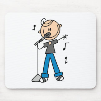 50s Male Singer Stick figure t-shirts and Gifts Mousepad