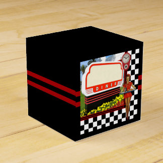 50s Retro Diner Favour Box