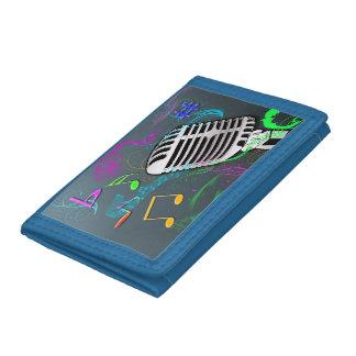 50's Rock n' Roll Tri-Fold Wallet