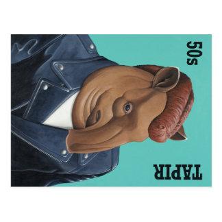 50s Tapir Post Card