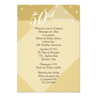 50th Anniversary Dinner Invitation