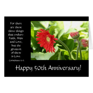 50th Anniversary Verses Cards, Photo Card Templates ...