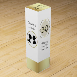 50th Anniversary Gift Wine Box
