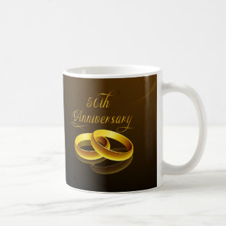 50th Anniversary | Gold Script Mug