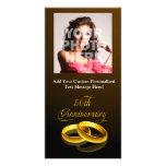 50th Anniversary | Gold Script Picture Card