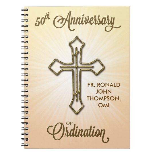 50th Anniversary of Ordination, Gold Cross on Star