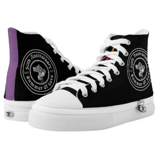50th Anniversary of the Summer of Love High Tops