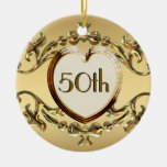 50th Anniversary Or 50th Birthday Ornament Christmas Ornaments