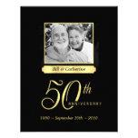 50th Anniversary Party - Custom Photo Invitations