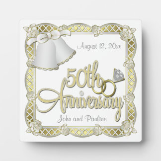 50th Anniversary Plaque