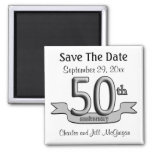 50th Anniversary Save The Date Party Favours