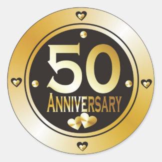 50th Anniversary Stickers