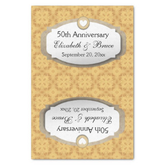 50th Anniversary Wedding Anniversary Gold Z05 Tissue Paper