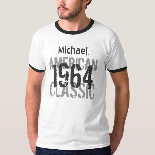 50th Birthday 1964 American Classic Black White T-Shirt